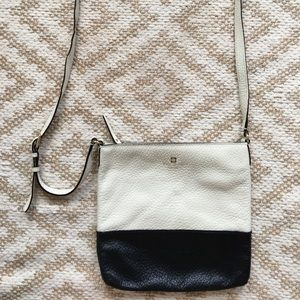 Kate Spade Pebbled Leather Cross Body Black Purse